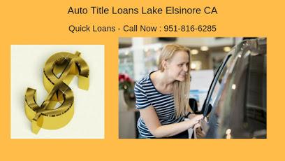 Get Auto Title Loans Lake Elsinore CA company image