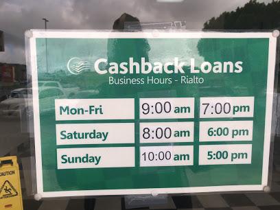 Cashback Loans company image