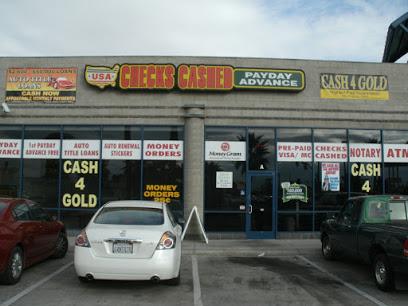 USA Checks Cashed & Payday Advance company image