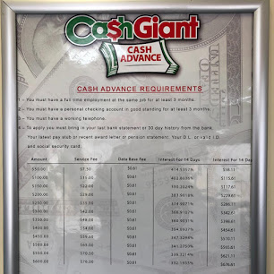 Cash Giant Payday Advance company image