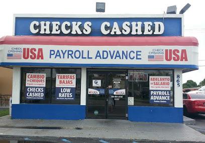 Check Cashing USA company image